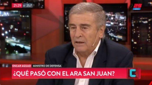Aguad: El país está en malas condiciones por lo que pasó en los últimos 70 años