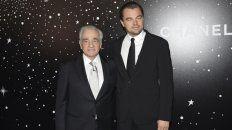 El director junto a Leo DiCaprio.