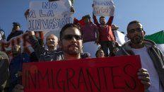 Las protestas en Tijuana tienen lugar en  medio de un endurecimiento de  las posiciones antimigrantes en algunos  Estados del norte de México.