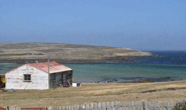Ponen en venta una isla de Malvinas