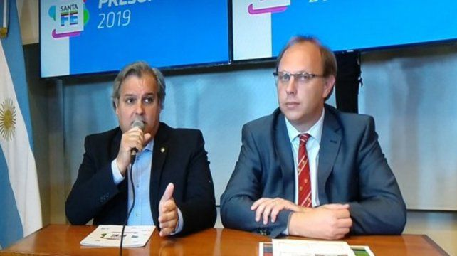 Pablo Farías y Gonzalo Saglione dieron precisiones a la prensa.