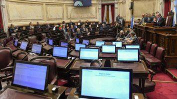bancas. Los senadores peronistas, de todas las vertientes, se negaron a tratar el pedido de desafuero a Cristina.