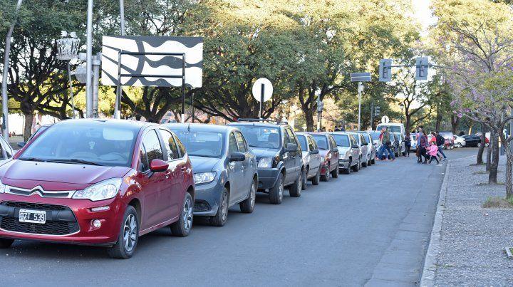 Sensores avisan dónde hay lugar para estacionar