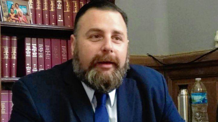 Acusador. El fiscal Federico Reynares Solari hizo su alegato ayer.
