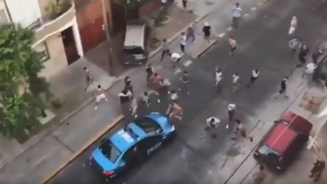 Serios incidentes, policías heridos y detenidos, tras el partido entre All Boys y Atlanta