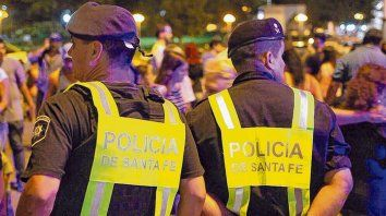 Presencia. Tuvimos un operativo sin precedentes este año, con más de 200 policías, destacó Pullaro.