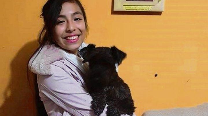 Víctima. Una foto reciente de Xiomara Naomí cuando cumplió los 15.