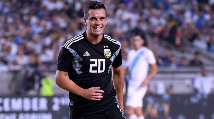Giovani Lo Celso: Me siento muy cómodo en la selección
