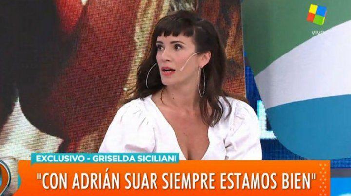 Griselda Siciliani reveló su malestar cuando trabajó con Juan Darthés