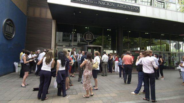La Bancaria lanzó un paro de 24 horas para mañana viernes