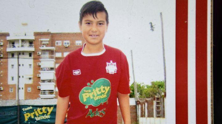 Pablo tenía 14 años y jugaba al fútbol en Juan XXIII.
