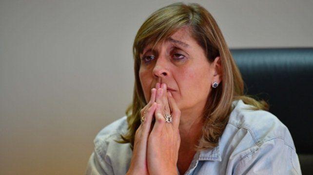 Marta Yáñez. La jueza federal de Caleta Olivia recibió ayer las 67 mil imágenes del siniestro del ARA San Juan.