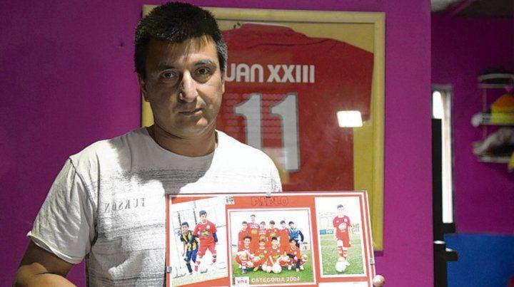 Desolado. Antonio Silva