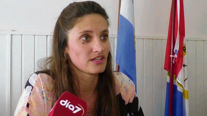 Al frente. Melina Giorgi
