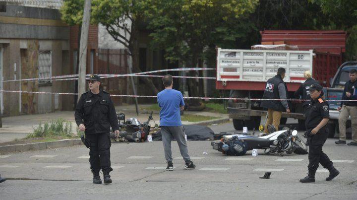 El policía murió en la esquina de Provincias Unidas y Arévalo.