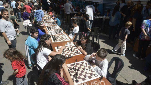 Los tableros se desplegaron en Córdoba al 1400. El deporte ciencia a full.