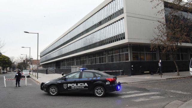La audiencia por la muerte del bebé se realizó en el flamante Centro de Justicia Penal.