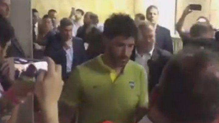 Trasladaron a Pablo Pérez a una clínica por las heridas recibidas