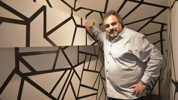 Alza la voz. Moldavsky hace humor judío y también sobre la realidad social.