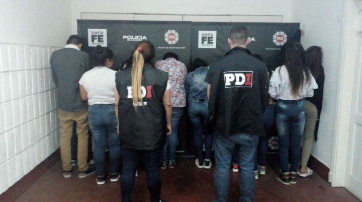 Una acción de la PDI logró interceptar días pasados a varios delincuentes que asolaban la peatonal.