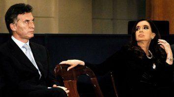 Una imagen que data de cuando Macri era jefe de Gobierno de Buenos Aires y Cristina era presidenta.