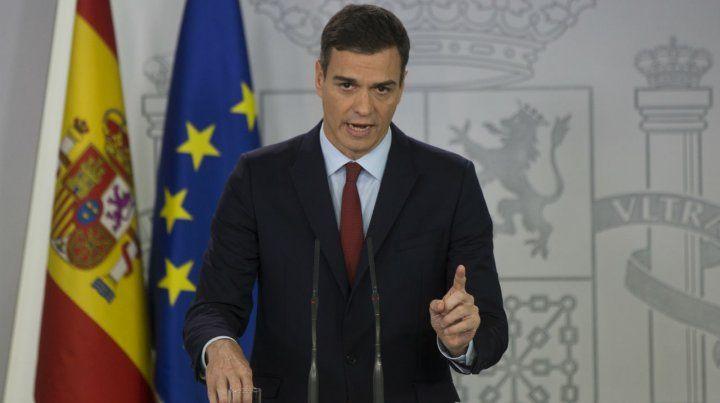 El español Pedro Sánchez declaró que todo lo que implique a Gibraltar será definido por España.