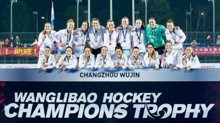 Las Leonas golearon a China y se quedaron con el bronce
