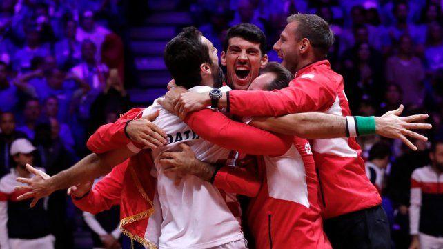 Croacia se consagró campeón de la Copa Davis tras derrotar a Francia