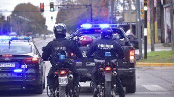 Presencia. Los vecinos reclaman mayor rigor en el control de motos, dijo el presidente de la comisión de Seguridad.