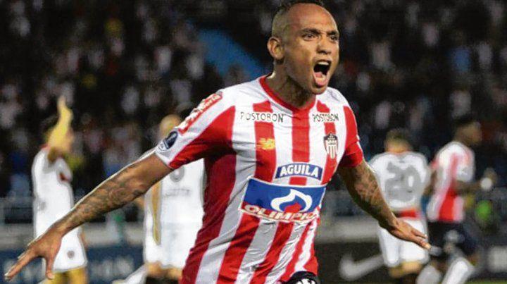 Jarlan Barrera. El volante colombiano tiene buena pegada y gol. Y Central lo quiere.