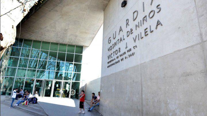 Los chicos fueron llevados al Hospital de Niños Víctor J. Vilela.