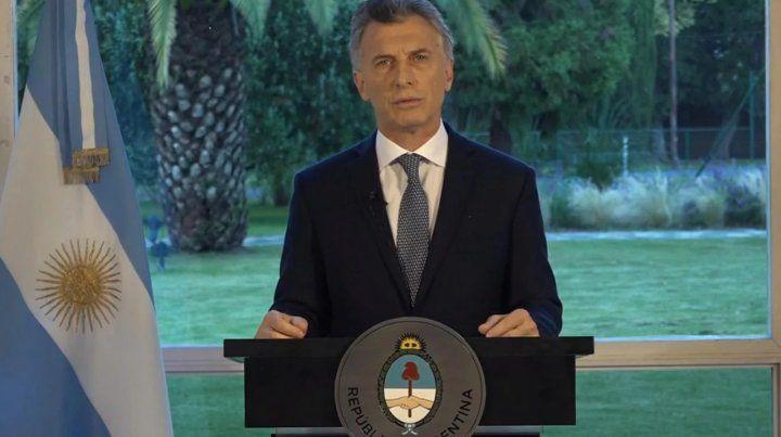 Macri dijo que fue un bochorno lo que ocurrió en el superclásico