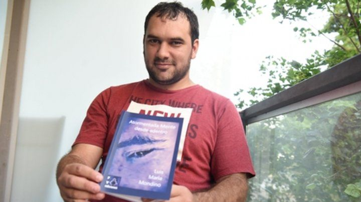 Luchador. Luis María Mondino y el libro que narra su experiencia.