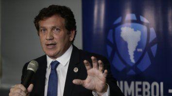 El presidente de la Conmebol, Alejandro Domínguez, dio a conocer la decisión.