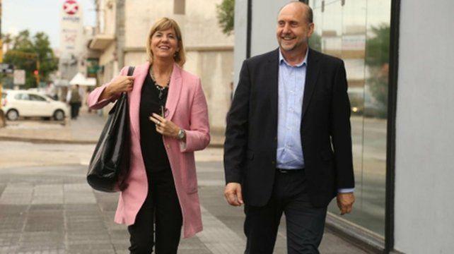 Confluencia. Alejandra Rodenas y Omar Perotti