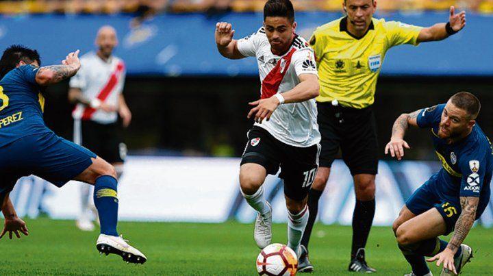 Decisivo. Gonzalo Martínez integrará el ataque del equipo millonario.