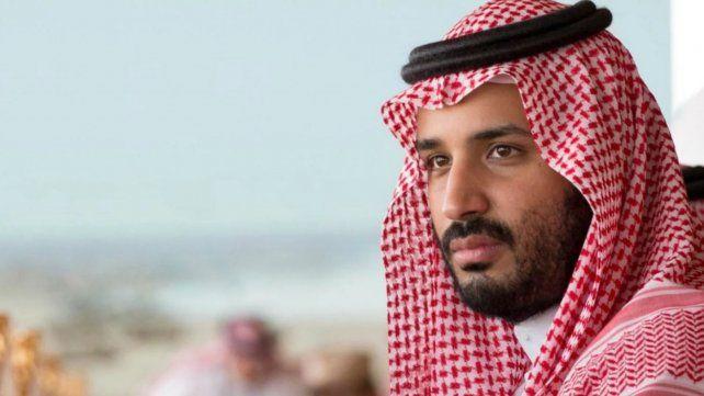 Ya llegó el príncipe de Arabia Saudita al país para la cumbre del G-20