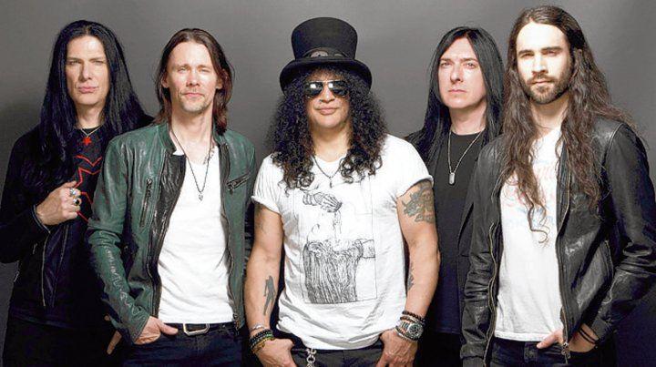 Un pleno de rock. Slash