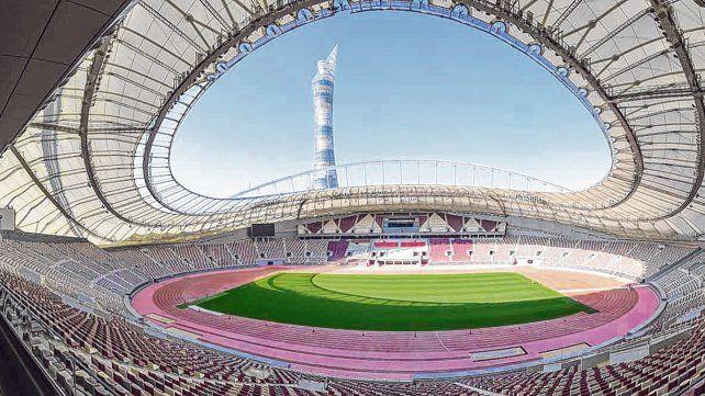 ¿Será el escenario? El estadio Khalifa alberga 68 mil espectadores. Miami y Medellín