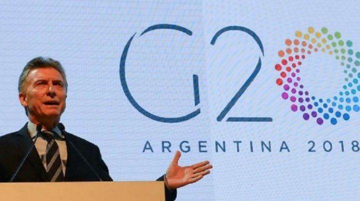Macri mantendrá reuniones bilaterales con los principales líderes del mundo