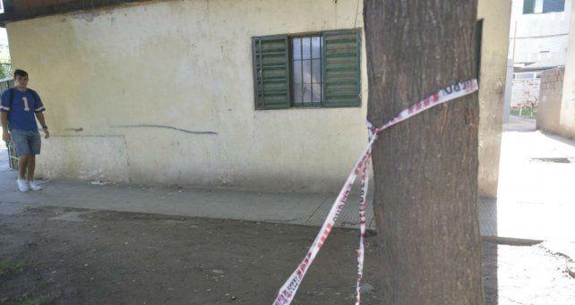El lugar donde ultimaron a Nahuel Duarte, en barrio Ludueña.
