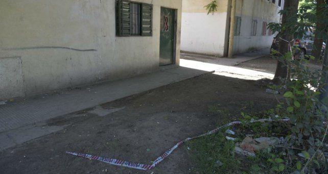 El lugar donde ultimaron a Nahuel Duarte en barrio Ludueña.