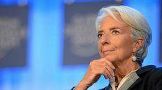 La titular del FMI destacó la política económica de la Argentina.