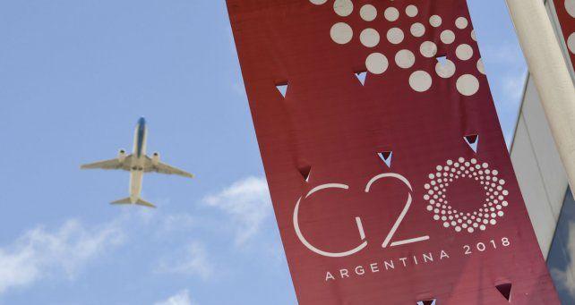 Todo listo en el predio donde sesionará el G20.