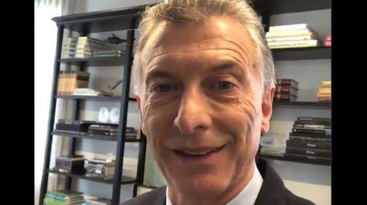 Macri: Esto es algo que nunca pasó en nuestro país