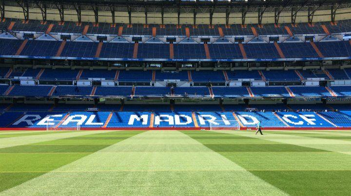 El estadio Santiago Bernabéu albergaría a hinchas de ambos equipos.
