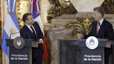 macri confia en un acuerdo mercosur-union europea