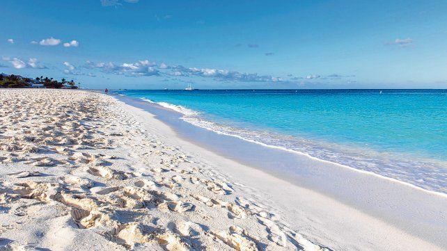 Famosa por su belleza. Eagle Beach es quizás la vedette de las playas de Aruba porque está rankeada entre las 10 mejores del mundo.