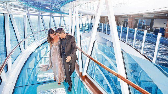 Mágico. La nave Royal Princess realizará un único viaje de 20 días de duración