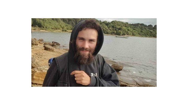 Santiago Maldonado. El joven artesano murió ahogado en el río Chubut.